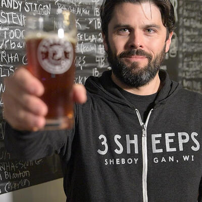 Grant Pauly - Brewmaster and Founder of 3 Sheeps Brewing