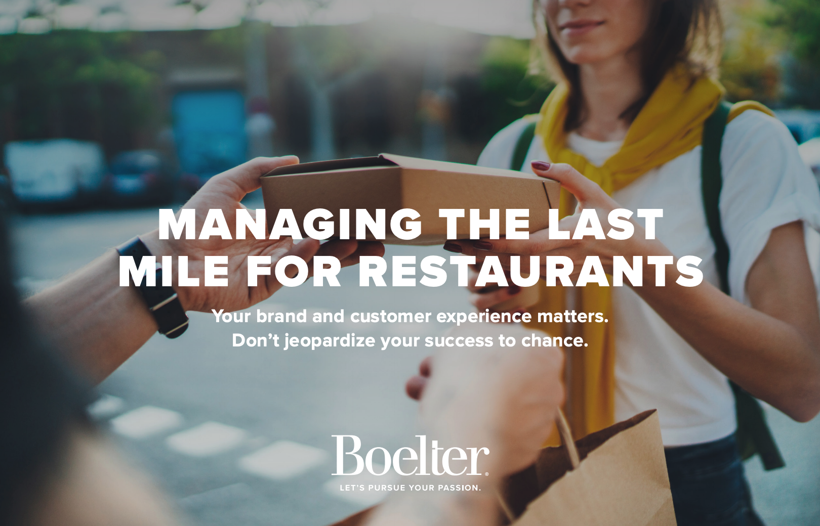 Managing the Last Mile for Restaurants eBook cover