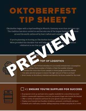 Oktoberfest checklist preview