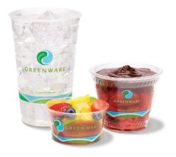 Three Greenware cups