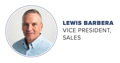 Lewis Barbera - Vice President of Sale, The Boelter Companies