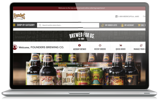 Boelter Hosted E-commerce Site for Founders